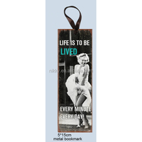 The most famous classic picture of Marilyn Monroe Memorial bookmarks
