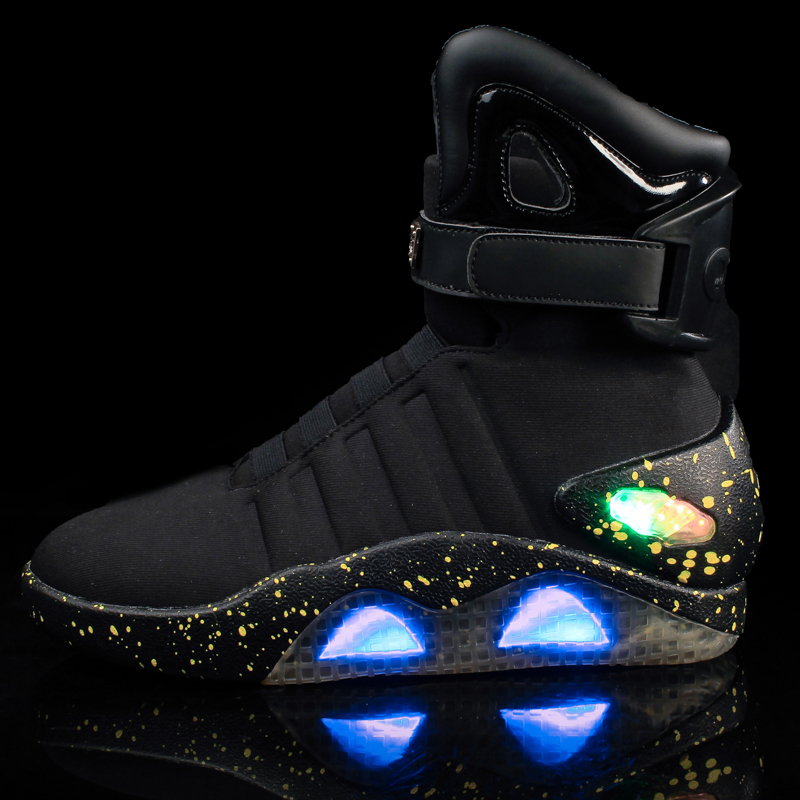 Men light Flashing LED Shoes Sneakers 2017,Casual Usb Charge Led Light Up Vietnam Shoes