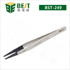 BEST-249 Multi Function Stainless Electronic Tweezers with Replaceable Tip