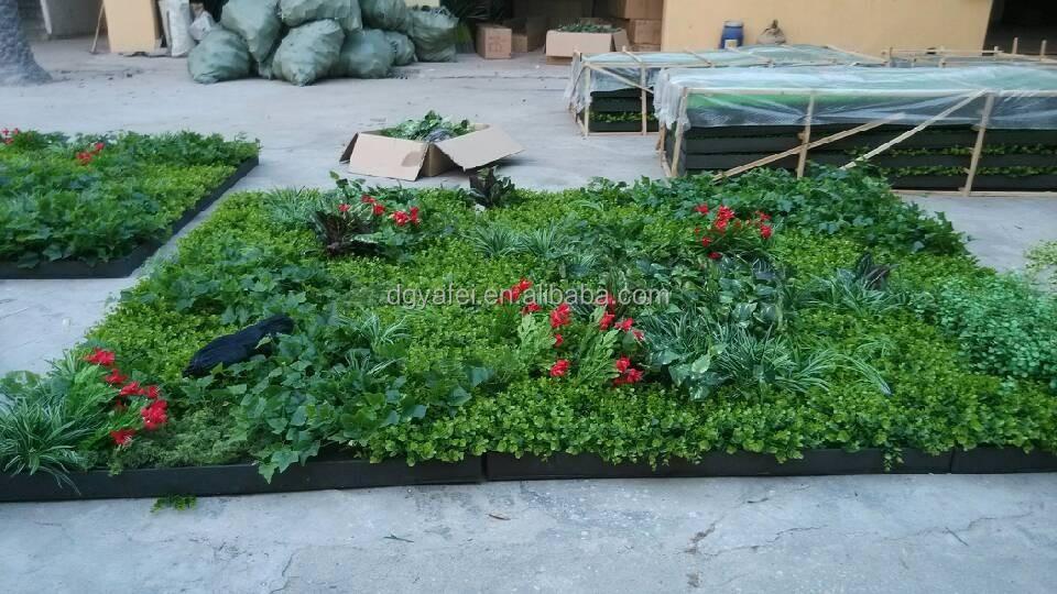 Artificielle plante verte mur suspendus mur de fleur for Plante artificielle pour exterieur