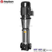 Vertical Multistage High Pressure Low Volume Booster Water Pump