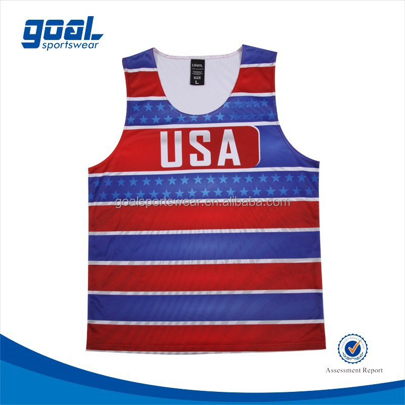 Make Your Own Design Sublimation Youth Custom Basketball tank top jersey