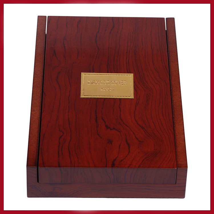 New design wooden luxury box for gold iPhone
