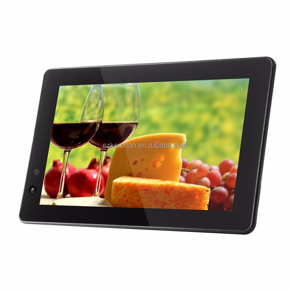 10 inch supermarket lcd advertising screen with motion sensor