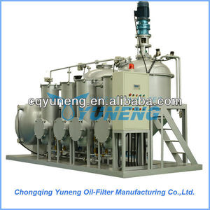 Essential oil distillation equipment convert pyrolysis oil/tire oil to diesel and gasoline