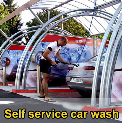 Car Wash Station Equipment Self Service Coin Operated