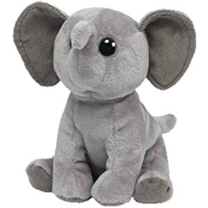 a13c2a2de46 Get Quotations · Ty Beanie Babies Sahara Elephant Plush by Ty Beanie Babies