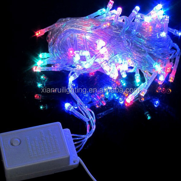 Color Beautiful Shinning Led Decorative Copper Wire String Lights ...