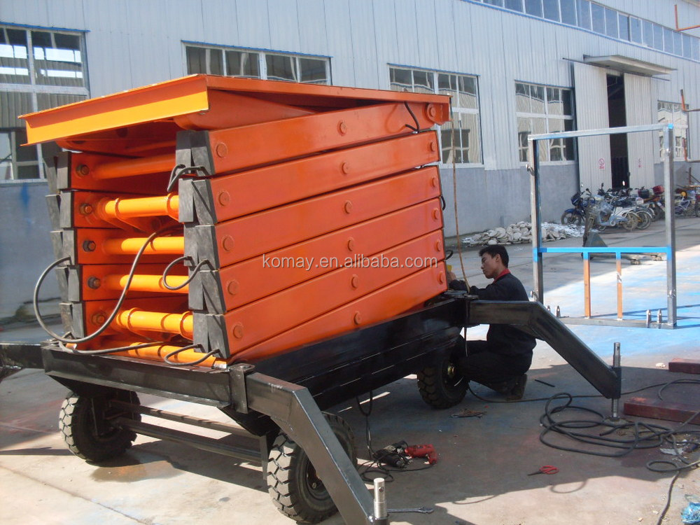 KOMAY High Quality and High Rise Mobile Work Platform
