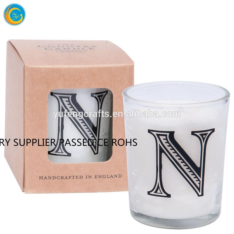clear glass votive candle holders star shaped candles packaging
