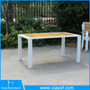 Outdoor teak wood rectangle dining table