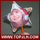custom photo transfer hand made Christmas balloon for decoration