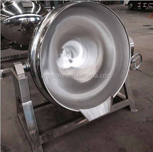 Wasserkocher mit elektromagnetischer Heizung für Marmelade / Doppellage Kochgeschirr mit Vakuummantel / 100L-Jackenkessel für Milch