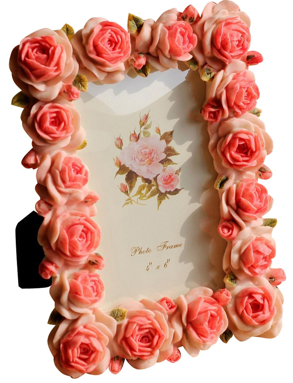 Giftgarden Rose 4x6 Picture Frames for Photo 4 by 6 inch Wedding Anniversary Valentine's Day Gifts for Girlfriend