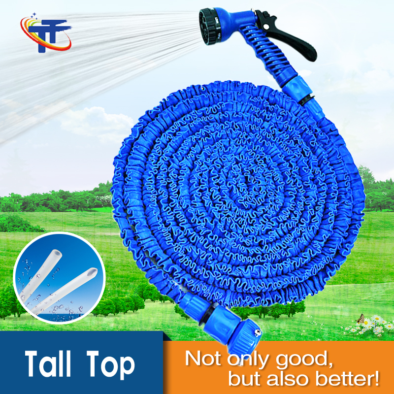 Tall-Top Expandable Garden <strong>Hose</strong> with TPE Inner <strong>Hose</strong> Streched <strong>Hose</strong> 50ft Blue T51050-82