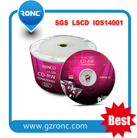 2016 Guangzhou Ronc Factory High quality OEM Package with Cheap Compact Disc 700mb 52xcd-r Blank