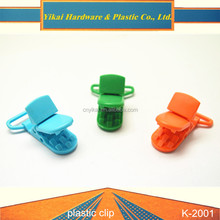plastic fastener and clips clothing,bookmark paper clip,plastic sock clips