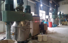 Chinese Silicone Sealant Production line Technology Support include raw material and filling machine