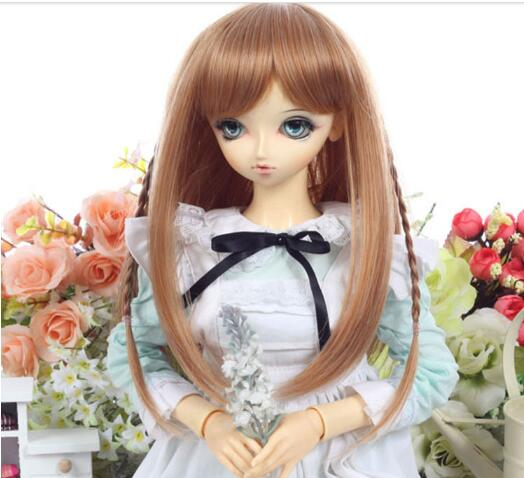 Beauty Good Quality Mohair Doll Wig American Girl Doll Wig