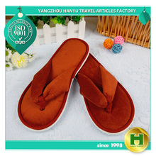 promotional cheap hotelslipper custom slippers