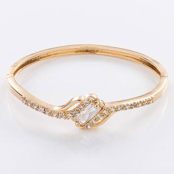 Alibaba New Design Cheap 24k Saudi Gold Jewelry Bracelet Prices