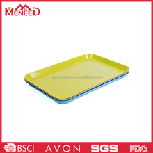 Fashionable loe price family use solid color Chinese design service breakfast tray set