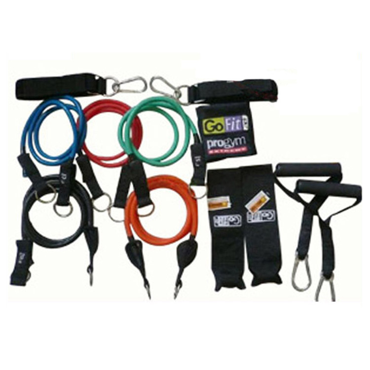 Training Band Stretch Fitness Tube Set Hip Resistance Exercise Bands
