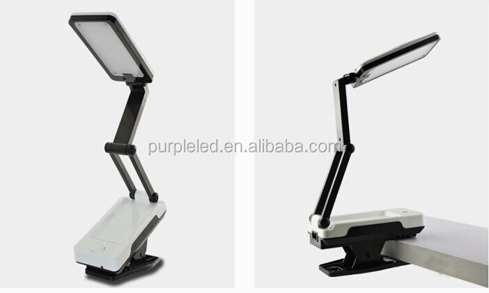 nios recargable led lmpara de mesa plegable mini led lmpara de escritorio lmpara de
