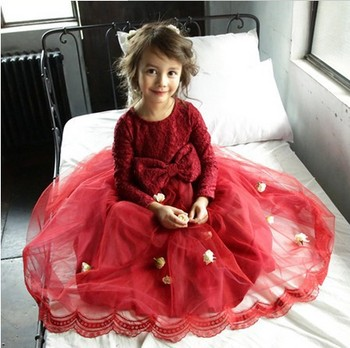 Girls Cotton Dress Materials Fat Girl Party Prom Dress China ...