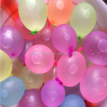 111pcs magic water balloon boobs latex colorful ballon set with filler