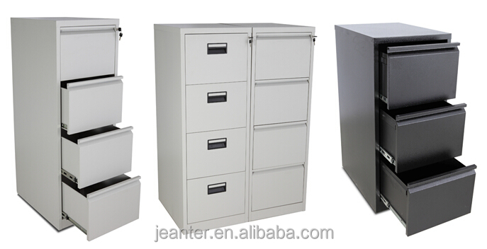 Office Furniture Assemble Collapsible Filing Cabinet Used Metal ...