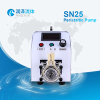 cosmetic oil filling machine peristaltic metering pump