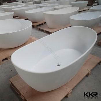 52 Inch Bathtub , Removable Tub Price , Free Standing Stone Bath