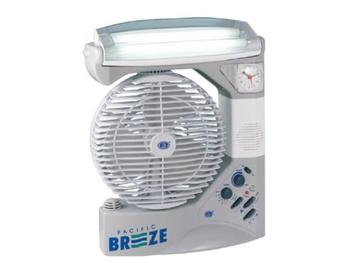 Rechargeable Fan Light With Radio And Mosquito Repeller