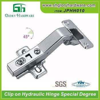 Jphh010 Nickle 45 Degree Cabinet Hinges Hidden Door Hinge - Buy ...