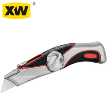 Foldable box cutter 210MM blade type heavy-duty retractable utility knife
