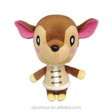 "Nuovo Piccolo Compagno Animal Crossing New Leaf USA <span class=keywords><strong>7</strong></span> ""Fauna Peluche Ripiene Doll Toy"