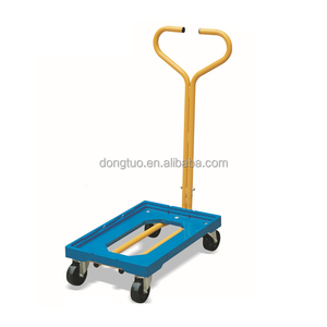 60*40 stainless steel carry trolley, reasonable hand trolley price, heavy duty cargo trolley hand trolley price