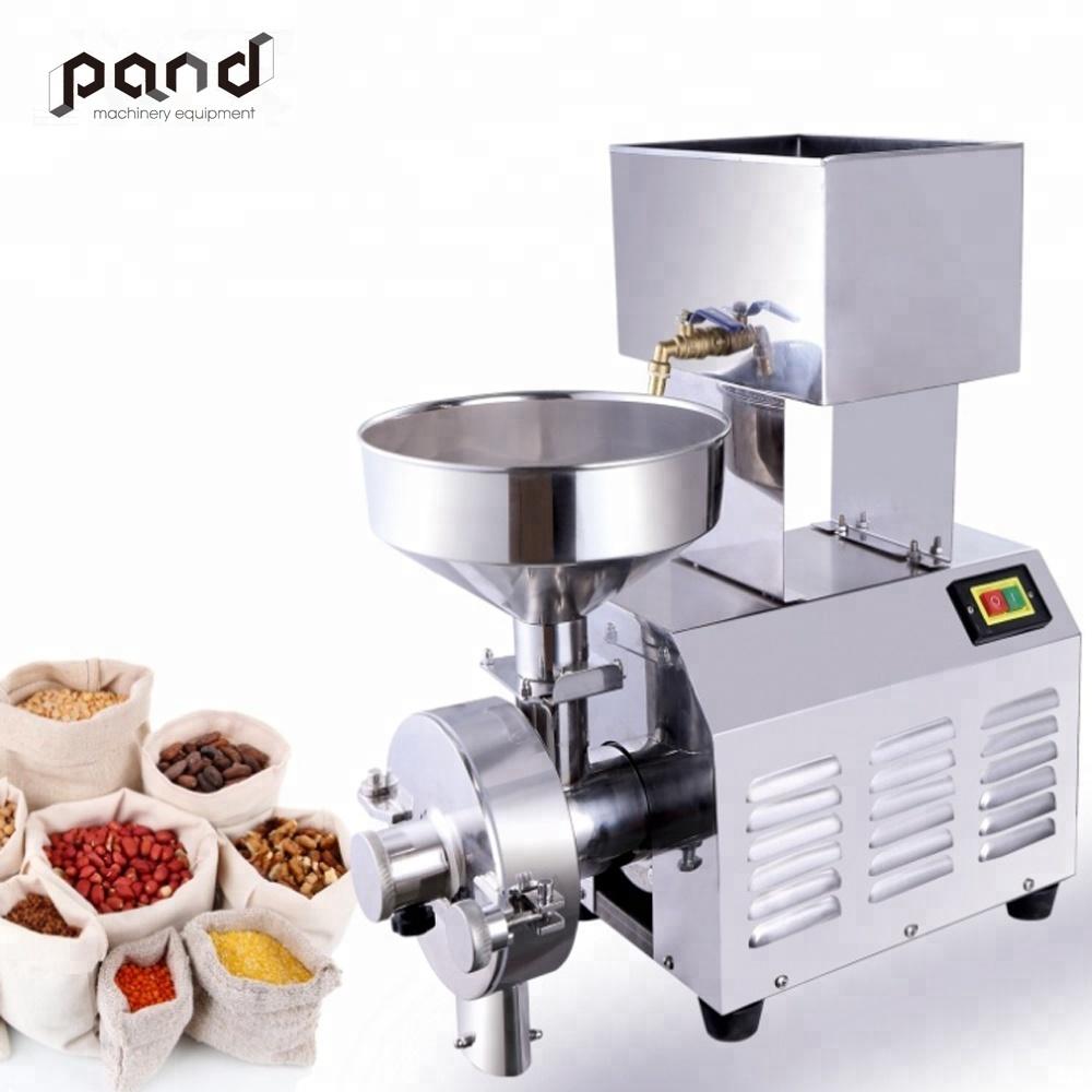 Moulin de table commercial, g, pour aliments humides, riz, farine, maïs, prix machine