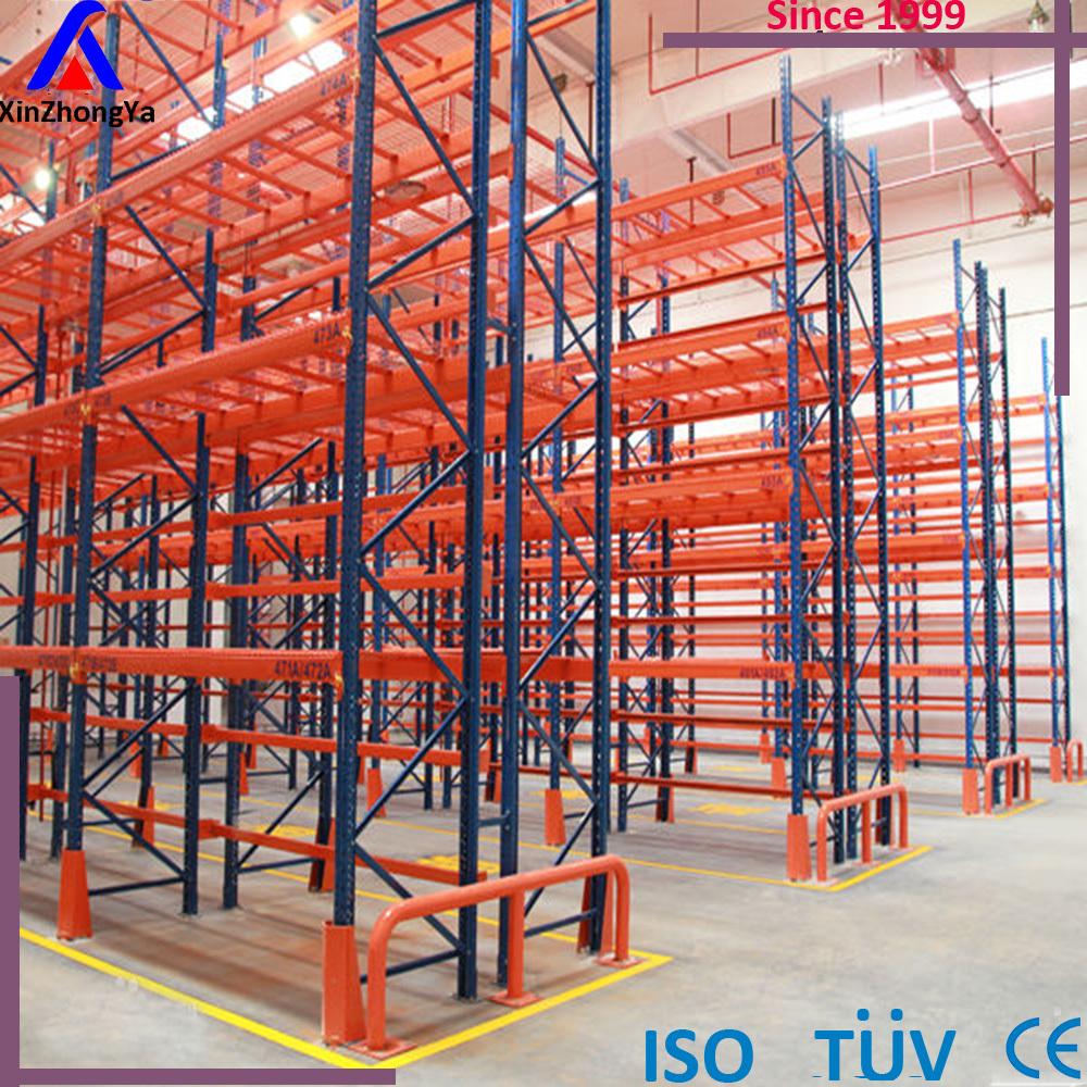 Warehouse Heavy Duty Rack Storage System Interlock Pallet