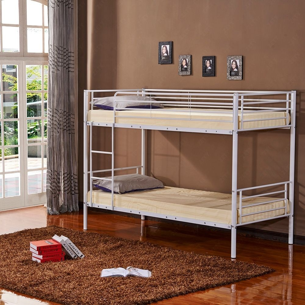 Modern Home Furniture Bunk Bed Metal Double Up Down Bed