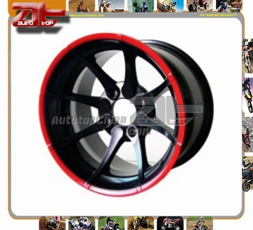 New Design Chroming 4 Stroke 14 inch atv alloy wheel rim alloy wheel