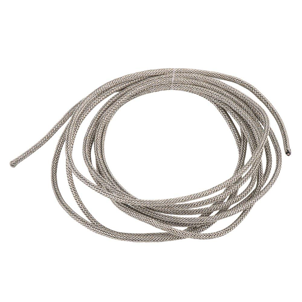 Guitar Circuit Hookup Wire 15/'ft Shielded 4 Conductor Cable BEST NOISE REDUCTION