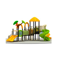 Playsets Children Outdoor Playground Equipment, Safety and Fun Plastic Kids Slide