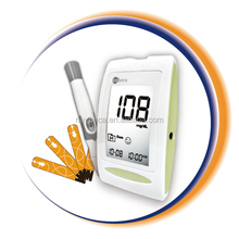 158d7cef8d7004 Digital Automatic blood glucose diabetes testing Meter with bluetooth dongle