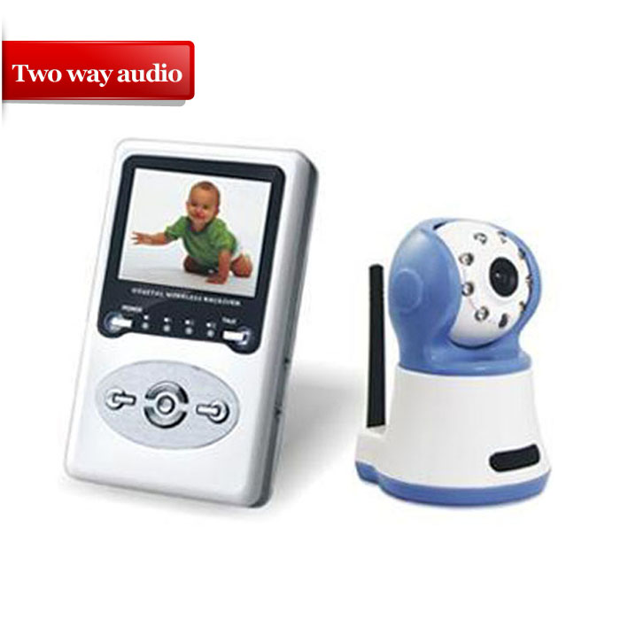 386D1 2.4G 2-way speak interference monitor wireless digital baby monitor