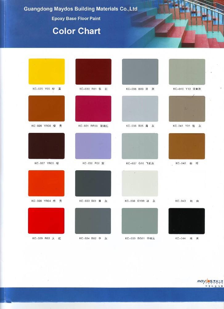 Anti est tica a prueba de polvo de pintura de resina epoxi for Pintura para pisos colores