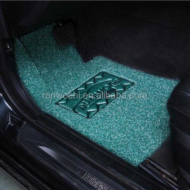 green car floor mats. Exellent Car Pvc Car Floor Mat Coil Double Layered 1218mm Thickness Crystal Series  Green To Green Car Floor Mats L
