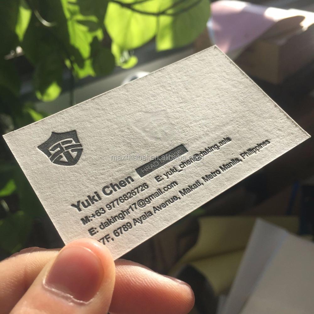 Debossed Business Card Printing, Debossed Business Card Printing ...