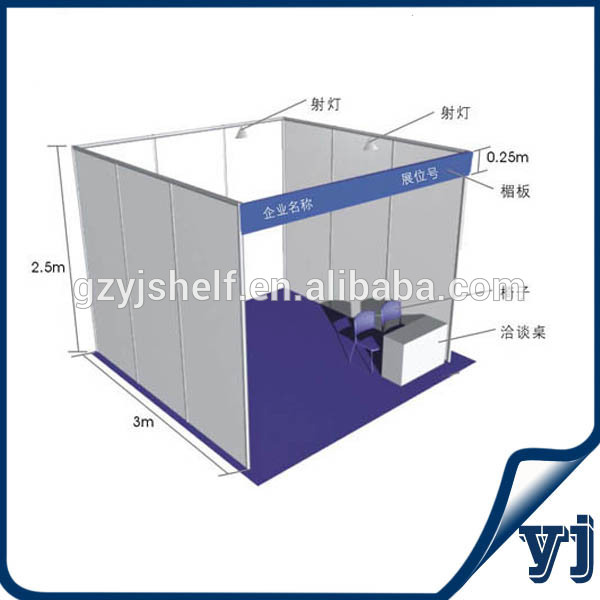 Simple Exhibition Stall : Portable aluminium stall shell scheme exhibition event